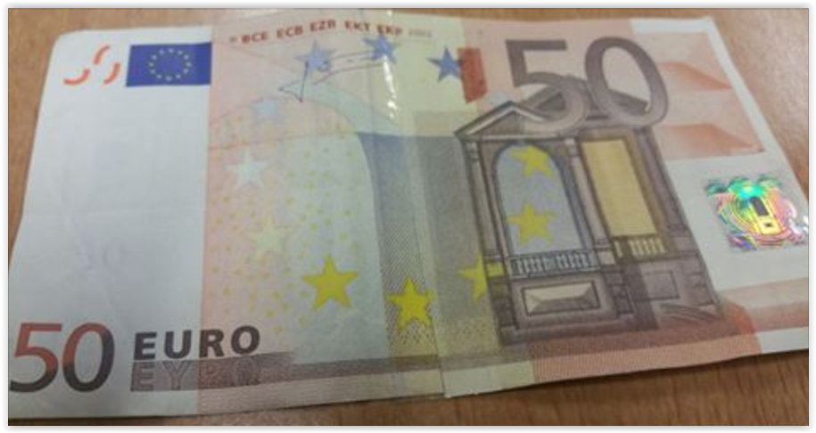 Vals geld aangetroffen bij winkelier in Velp